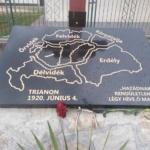 2020. 06. 04. Trianon, emlékmű avatás